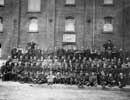 Edwardian workforce outside Malt House